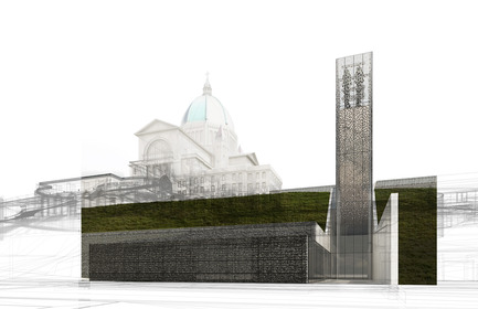 Dossier de presse | 865-26 - Communiqué de presse | Andrew King, Partner at Lemay, Appointed Fellow of Royal Architectural Institute of Canada - Lemay - Institutional Architecture - Saint Joseph's Oratory site redevelopment project - Crédit photo : Lemay