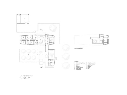 Press kit | 2609-01 - Press release | Compass House by superkül Named Architizer A+ Awards Jury Winner - superkül - Residential Architecture - Floor Plans - Photo credit: superkül