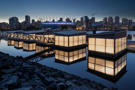 Press kit | 1615-04 - Press release | IESBC Announces the 2017 'Vision Award' Recipients - IESBC - Lighting Design -    Vancouver Creekside Paddling Centre -  IESBC Award of Merit & Vision Award for Outdoor Lighting Design<br>   - Photo credit: Michael Elkan Photography
