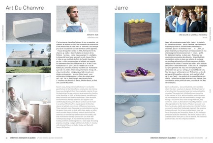 Press kit | 611-26 - Press release | Index-Design lance la 10e édition du Guide - 300 adresses design pour aménager et rénover - Index-Design - Édition - Créateurs émergents du Québec - Photo credit: Index-Design