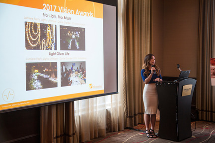 Press kit | 1615-04 - Press release | IESBC Announces the 2017 'Vision Award' Recipients - IESBC - Lighting Design - Emily Lee - IESBC EP chair member<br> - Photo credit: Michael Young<br>