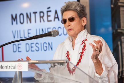 Press kit | 562-71 - Press release | Rainville-Sangaré Receives 2017 Phyllis Lambert Grant - Bureau du design - Ville de Montréal - Industrial Design - Phyllis Lambert - Photo credit: Mathieu Rivard
