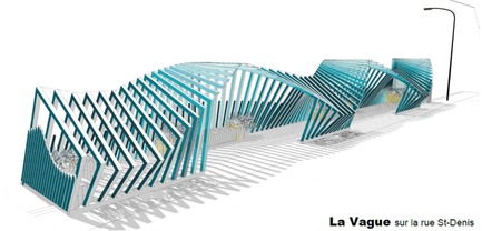 Press kit | 2664-01 - Press release | La Vague - Arcadia Studio - Urban Design - SketchUp Model - Photo credit: Camille Zaroubi