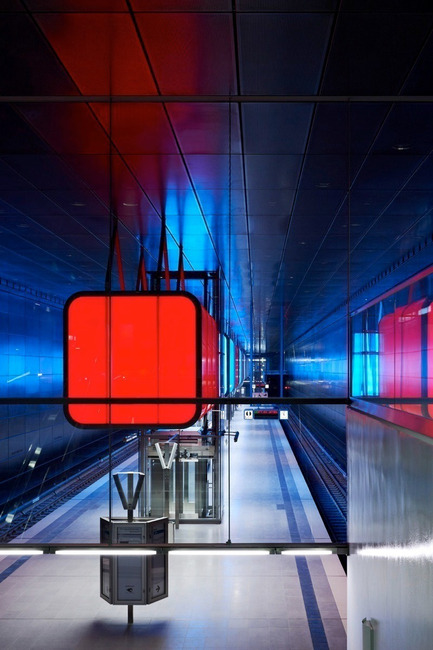 Press kit | 809-08 - Press release | Azure announces the finalists of the third Annual Az Awards - Azure Magazine - Competition - HafenCity University Subway Stationby Pfarre Lighting Design, Raupach Architekten, Design Stauss Grillmeier