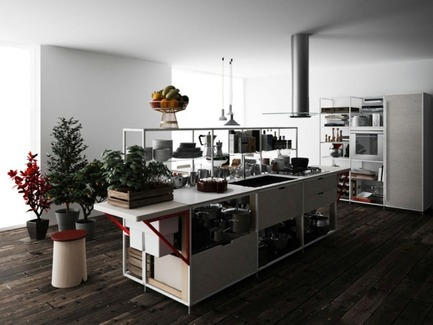 Press kit | 809-08 - Press release | Azure announces the finalists of the third Annual Az Awards - Azure Magazine - Competition - Meccanica Kitchenby Gabriele CentazzoDemode Engineered by Valcucine