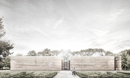 Press kit | 809-21 - Press release | AZURE Reveals the Winners of the 2017 AZ Awards - AZURE - Competition -  A Church for the Local Community, Wrocław, Poland<br>Adamiczka Consulting, Wrocław, Poland<br>Best Unbuilt Concept - 2017 AZ Awards  - Photo credit: AZURE