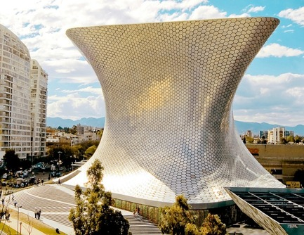 Press kit | 809-08 - Press release | Azure announces the finalists of the third Annual Az Awards - Azure Magazine - Competition - Soumaya Museumby FR-EE, Fernando Romero Enterprise