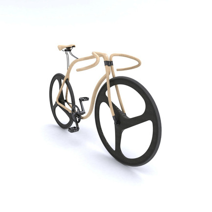 Press kit | 809-08 - Press release | Azure announces the finalists of the third Annual Az Awards - Azure Magazine - Competition - Thonet bentwood bikeby Andy Martin Studio