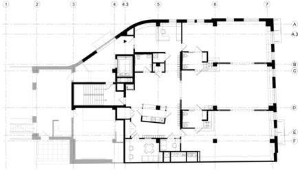 Press kit | 2604-01 - Press release | Maple Street School - BFDO Architects & 4|MATIV - Institutional Architecture - Main floor Plan - Photo credit: BFDO Architects & 4|MATIV