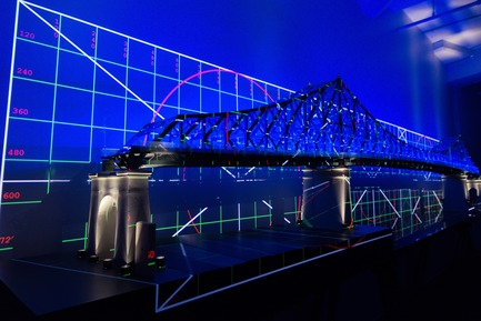 Dossier de presse | 1089-02 - Communiqué de presse | Illumination of the Jacques-Cartier Bridge | Creating the World's Most Connected Bridge - Moment Factory - Multimedia Design - Jacques Cartier Bridge Interactive Illumination_Behind The Scenes - Crédit photo :  Moment Factory