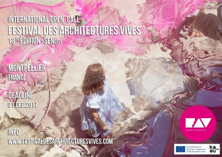Press kit | 982-38 - Press release | Open Call - FAV 2018 - Association Champ Libre - Festival des Architectures Vives (FAV) - Competition - Open Call - FAV 2018  - Photo credit: (c)festivaldesarchitecturesvives/photoarchitecture.com