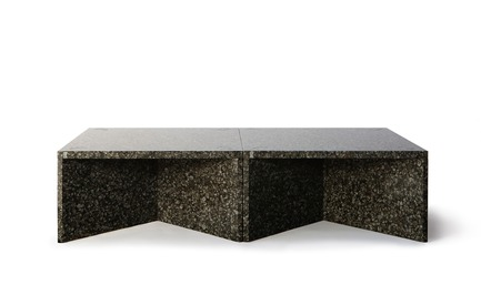 "Press kit | 990-05 - Press release | Out with Marble: KAYIWA Proves That Granite Has Always Been ""In"" - KAYIWA - Product - NZELA Coffee Tables - Baltic Green - Photo credit: KAYIWA"