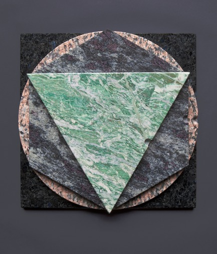 "Press kit | 990-05 - Press release | Out with Marble: KAYIWA Proves That Granite Has Always Been ""In"" - KAYIWA - Product - EEMELI Board Set - Lappia Green, Amadeus, Crystal Rose and Spectrolite - Photo credit: KAYIWA"