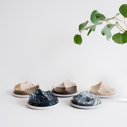 Press kit | 2757-02 - Press release | UMÉ Studio Launches Debut Collection of Objects for Everyday Living - UMÉ Studio - Product - Erode Soap Summit Series - Photo credit: UMÉ Studio