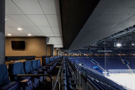 "Press kit | 865-28 - Press release | A ""Must-see"" Sports Arena: Design of Place Bell to Redefine Stadium Experience - Lemay - Commercial Architecture -  Luxury suites - Photo credit: Adrien Williams"