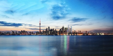 Press kit | 907-03 - Press release | Pinnacle One Yonge - Hariri Pontarini Architects - Commercial Architecture - View From Toronto Harbour - Photo credit: Hariri Pontarini Architects