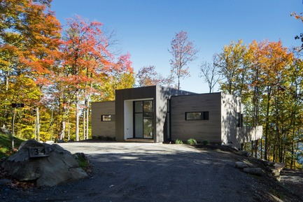 Press kit | 1678-02 - Press release | Bécassines Cottage - Atelier BOOM-TOWN - Residential Architecture - Photo credit: Steve Montpetit