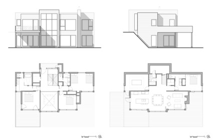 Press kit | 1678-02 - Press release | Bécassines Cottage - Atelier BOOM-TOWN - Residential Architecture -  Plans and elevations  - Photo credit: Atelier BOOM-TOWN