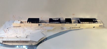 Press kit | 3044-01 - Press release | Sanbaopeng Art Museum - DL Atelier - Institutional Architecture - model - Photo credit: DL Atelier