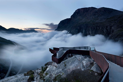 Press kit | 1071-01 - Press release | Architizer A+ Awards winners announced - Architizer - Competition - National Tourist Route Trollstigen - Reiulf Ramstad Architects - Photo credit: Architizer