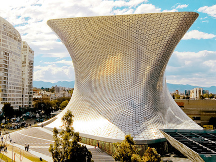 Press kit | 1071-01 - Press release | Architizer A+ Awards winners announced - Architizer - Competition -  Museo Soumaya  - FR-EE Fernando Romero Enterprise  - Photo credit: Architizer