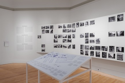 "Dossier de presse | 756-18 - Communiqué de presse | The CCA Presents ""Greystone: Tools for Understanding the City"". - Canadian Centre for Architecture (CCA) - Event + Exhibition - Greystone: Tools for Understanding the City. Installation view, 2017.  - Crédit photo : CCA, Montréal."