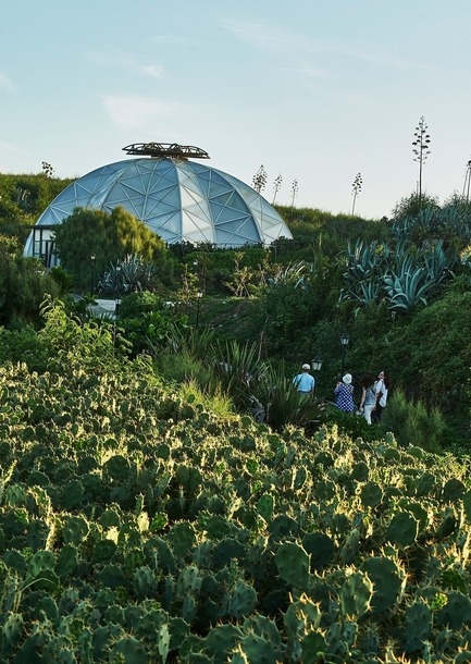 Press kit | 3092-01 - Press release | Cactus Park in Taiwan Draws Architectural Inspiration from Prickly Succulents - CCL Architects & Planners - Landscape Architecture - Echinocactus grusonii cactus greenhouse and envirement - Photo credit: CCL Architects & Planners