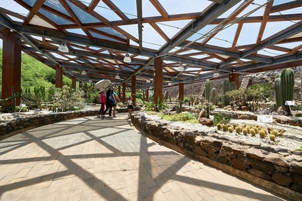 Press kit | 3092-01 - Press release | Cactus Park in Taiwan Draws Architectural Inspiration from Prickly Succulents - CCL Architects & Planners - Landscape Architecture - Basaltic-based greenhouse - Photo credit: CCL Architects & Planners
