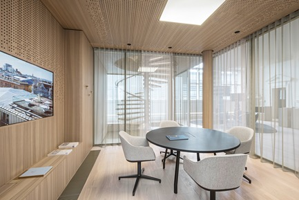 Press kit | 2274-02 - Press release | Telegraf 7 - BEHF Architects - Commercial Architecture - Meeting room <br><br>   - Photo credit: Hertha Hurnaus