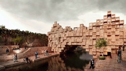 Dossier de presse | 661-42 - Communiqué de presse | World Architecture Festival 2017 - Day One Winners of International Architecture Awards Announced - World Architecture Festival (WAF) - Competition - Future Projects Infrastructure - Crédit photo : The Bridge by Sanjay Puri Architects