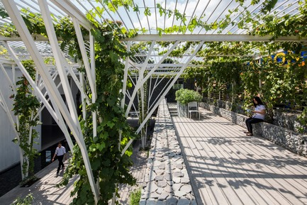 Press kit | 661-43 - Press release | World Architecture Festival 2017 – Day Two Winners Announced in Berlin - World Architecture Festival (WAF) - Competition - Cong Sinh Architects_Vegetable Trellis - Photo credit: Completed Buildings Hotel & Leisure