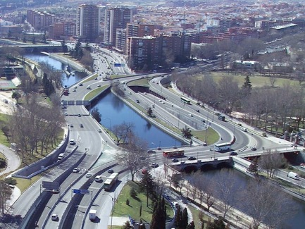 Press kit | 3076-01 - Press release | Madrid Rio. A New Urban Ecology - Burgos & Garrido; Porras La Casta; Rubio & A-Sala; West 8[Ginés Garrido, team director] - Landscape Architecture - Before  - Photo credit: Courtesy of the authors of the project