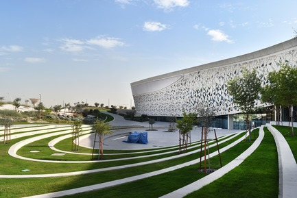 Press kit | 3085-01 - Press release | Qatar Faculty of Islamic Studies - MYAA - Commercial Architecture - The Garden of Islamic Arts - Photo credit: MYAA