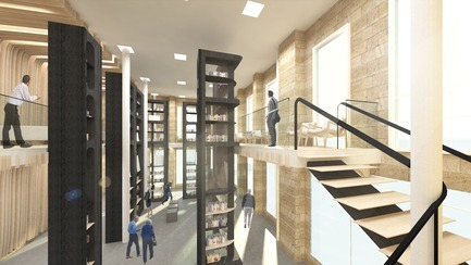 Press kit | 3118-01 - Press release | re_Forum: The Novel Bookstore - Try Andy - Commercial Architecture - View from Staircase - Photo credit: Try Andy