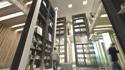 Press kit | 3118-01 - Press release | re_Forum: The Novel Bookstore - Try Andy - Commercial Architecture - Atrium - Photo credit: Try Andy