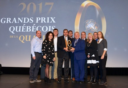 "Press kit | 1639-07 - Press release | Boa-Franc Receives Highest Honour at the ""Grand Prix québécois de la qualité"" Awards for the Second Straight Time - Boa-Franc - Competition -  Boa-Franc receives highest honour at the Grand Prix québécois de la qualité awards for the second straight time <br>  - Photo credit: Boa-Franc"