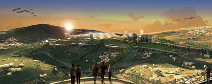 Press kit | 865-04 - Press release | The joint venture exp + Lemay is the winner of the international contest for the new city of El-Menia, Constantine, Algeria - exp + Lemay in consortium - Competition - Photo credit:  Lemay