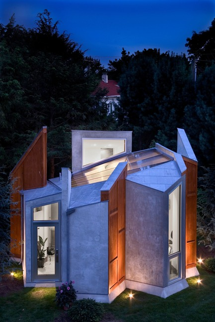 Press kit | 3136-02 - Press release | Butterfly Studio - Valerie Schweitzer Architects - Residential Architecture - Winner of the American Architecture Prize in small architecture, 2017 - Photo credit: Tom Leighton