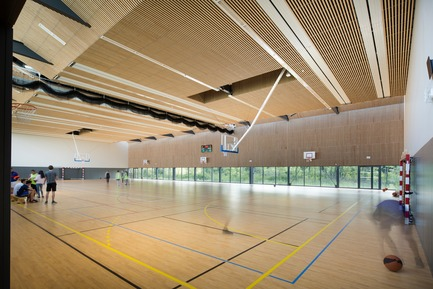 Press kit | 3181-01 - Press release | Gymnasium of the Louis de Cormontaigne High School in Metz - agence ENGASSER & associés - Institutional Architecture - Photo credit: ©Mathieu Ducros