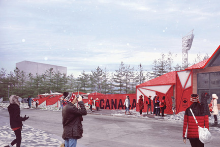 Dossier de presse | 1303-06 - Communiqué de presse | Sid Lee Architecture, Official Partner of the Canadian Olympic Committee - Sid Lee Architecture - Event + Exhibition - Canada Olympic House at the Olympic Winter Games PyeongChang 2018 - Crédit photo : Canadian Olympic Committee & Sid Lee Architecture