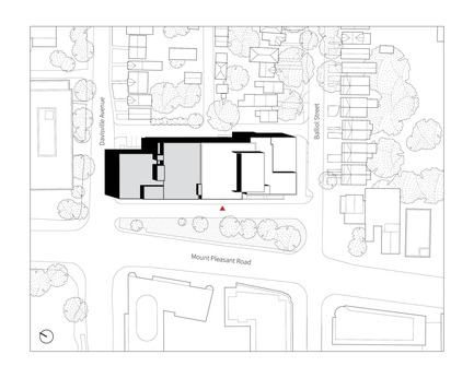 Press kit | 2681-01 - Press release | The Greenwood College School Expansion - Montgomery Sisam Architects Inc. - Institutional Architecture - Site Plan - Photo credit: Montgomery Sisam Architects Inc.