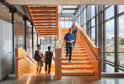 Press kit | 3178-01 - Press release | WSU University Center Expands Higher Education in North Puget Sound Region - SRG Partnership, Inc. - Institutional Architecture - Photo credit: Copyright 2017 Benjamin Benschneider All Rights Reserved