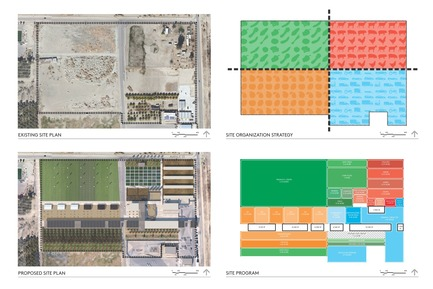 Dossier de presse | 3202-01 - Communiqué de presse | Coachella Valley High School Agriculture + Natural Resources Academy - PJHM Architects - Institutional Architecture - CVHS Agriculture + Natural Resources - Site Programming - Crédit photo : PJHM Architects
