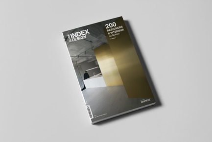 Press kit | 611-28 - Press release | Index-Design Launches 9th Edition of the Guide – 200 Interior Designers from Quebec - Index-Design - Edition - Cover of the Guide - 200 interior designers from Quebec 2018 - Photo credit: Index-Design