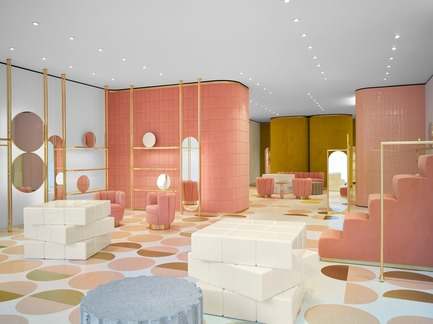 Press kit | 3160-02 - Press release | Frame Awards 2018 Winners Announced In Amsterdam - Frame - Commercial Interior Design - India Mahdavi - Jury Prize for Single-brand Store of the Year - Red Valentino Sloane Street, London <br> - Photo credit: Derek Hudson<br><br>