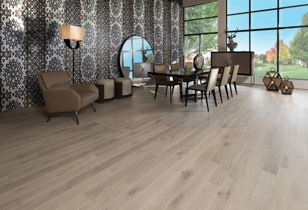 Press kit | 1639-08 - Press release | Mirage Introduces Five New Colors: Four to Sweet Memories Collection and One to Flair Collection - Mirage Hardwood Floors - Product - Bubble Bath - Sweet Memories Collection - Photo credit: Mirage Hardwood Floors