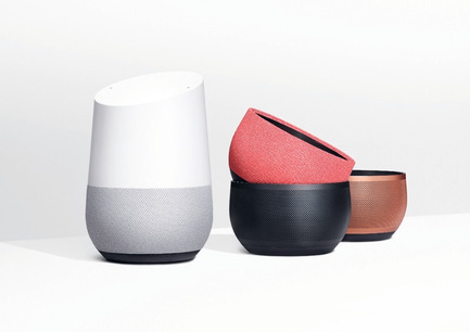 "Press kit | 1696-21 - Press release | The Winners of the Red Dot Award: Product Design 2018 Have Been Chosen - Red Dot Design Award - Competition - ""Google Home"" received a Red Dot: Best of the Best<br> - Photo credit: Red Dot<br>"