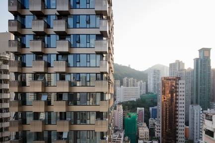Press kit | 2317-02 - Press release | Make Completes High Rise Luxury Residential Tower in Wan Chai - Make Architects - Residential Architecture - The Luna - Photo credit: Archmospheres