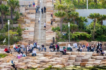Press kit | 1968-10 - Press release | The 2018 Architecture MasterPrize Design Awards Program is Open for Submissions - The Architecture MasterPrize - Competition - Landscape Design of the Year 2017 - Barangaroo Reserve  by PWP Landscape Architecture - Photo credit: PWP Landscape Architecture