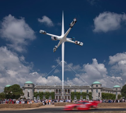 Press kit | 1022-06 - Press release | Porsche Sculpture: Goodwood Festival of Speed, 2018 - Gerry Judah - Art - Photo credit: David Barbour